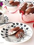 バレンタインに♡簡単♡チョコレートマドレーヌ
