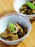 筍とフキとひじきの煮物