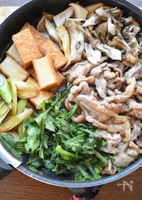 『【コスパ最強レシピ】黄金比de激うま♡豚こまdeすき焼き風♡』