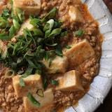 ごま麻婆豆腐。