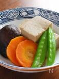 味しみしみ〜滋味溢れる高野豆腐の含め煮