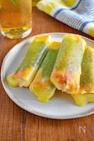サラダチキン&チーズのパリパリ焼き(揚げずに簡単)