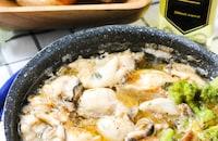 超簡単絶品♡牡蠣のアヒージョ#業務スーパースパイス1つだけ♪