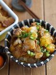 ご飯がすすむ甘辛スタミナ系!豚バラと長いものごろごろ肉味噌