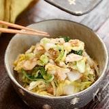 白菜とツナのシャキシャキ和風サラダ【#作り置き#お弁当】
