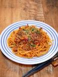 味噌パウダーで作る「味噌ミートスパゲッティ 」