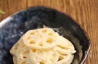 レンジで簡単!レンコンのピリ辛サラダ