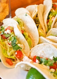 『【シュリンプ タコス】サラダ感覚で美味しいメキシカン!』
