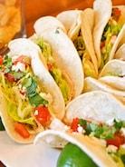 【シュリンプ タコス】サラダ感覚で美味しいメキシカン!