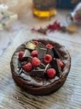 混ぜるだけ〜な濃厚チョコレートチーズケーキ