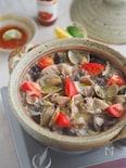 スイチリだれが味の決め手!『豚肉とあさりのアジアン鍋』