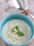 キヌアのジンジャーミルクスープ