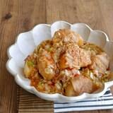 豚巻き大根のこっくりピリ辛中華煮