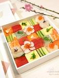 春のお祝いに♡艶やか♡モザイク寿司