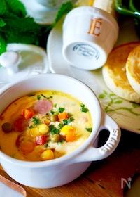 『【簡単時短レシピ】♡オーブントースターでスクランブルエッグ♡』