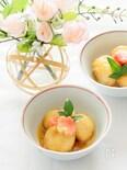 ストウブで小芋と生麩の揚げ煮
