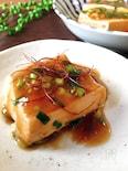 簡単おかず♪木綿豆腐のオイスターソース煮
