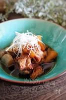 圧力鍋で♪豚バラ軟骨と大根の煮物