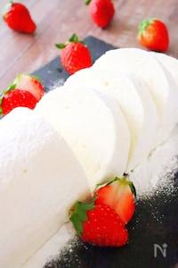 【バレンタイン】ホワイトチョコレートムースケーキの作り方