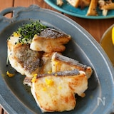 【人気のお魚レシピ】ご飯に合う♪たらの柚子バタームニエル
