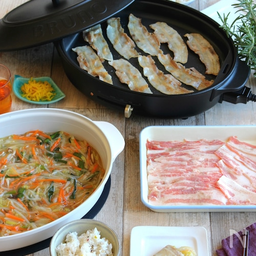 <BRUNO>野菜あんで食べる豚バラ焼肉