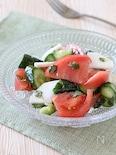 ごろごろ野菜のハーブドレッシングサラダ