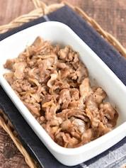 豚こま切れ肉の生姜佃煮【冷凍・作り置き】