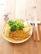 ザクザクカレーの豚ステーキ