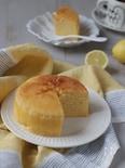 作業時間10分。さわやかなヨーグルトとレモンのケーキ(米粉)
