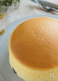 『しぼまずふわふわ!『究極のほめられスフレチーズケーキ』』