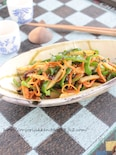 ピーマンの海苔炒め§佃煮でNIPPONの味・栄養バッチリ副菜