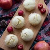 【簡単おやつ】フライパンで簡単!りんごたっぷり蒸しパン
