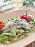 春野菜とタラのフライパン蒸し