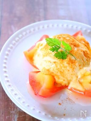 【レンジで簡単スイーツ】焼きリンゴの作り方レシピ