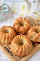 【全粒粉のアップルシナモンケーキ】バター不使用・しっとり♡