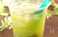 抹茶果茶 台湾果茶風 暑い日におすすめ!