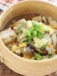 鶏のスーランタン風スープ