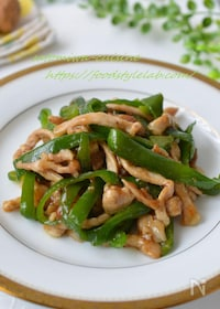 『ご飯が進む!豚肉とピーマンの簡単中華炒め『青椒肉絲』』