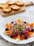 ガスパチョでムルシア風サラダ