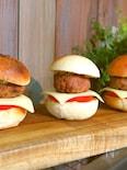 【ほっときもちもちパン!】【トースターで焼ける】バーガー