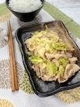 食材2つで超主役おかず*豚バラとキャベツの簡単麺つゆ炒め*