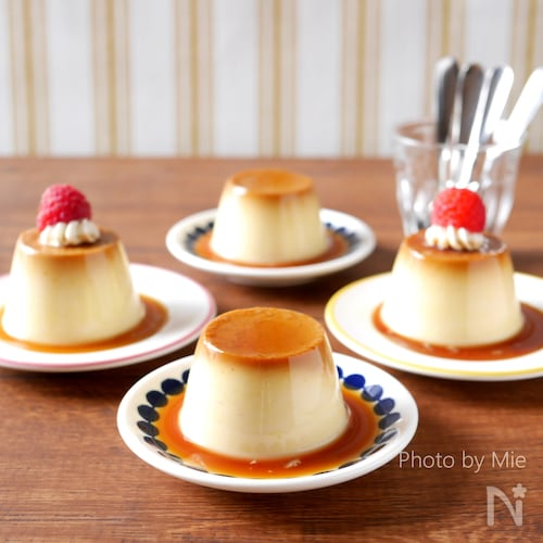 【卵なし/★牛乳バージョン】カラメルプリン