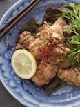 レンジでチンの簡単香味タレ☆油淋鶏☆ユーリンチー