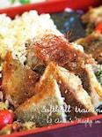 お弁当にお魚のおかず★【青のり風味♡白身魚の和風香味焼き 】