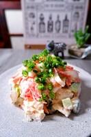 \切って混ぜるだけ/カニカマ・白菜・きゅうり明太子サラダ