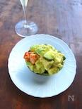 アボカドココットのチョップドサラダ