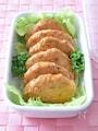 豆腐と鶏ひき肉の豆板醤風味小判焼き 作り置きレシピ