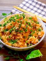 【炊飯器で簡単混ぜご飯!!】秋鮭のバター炊き込みご飯