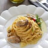 【牡蠣のオイル漬け】を使って作る!ごちそうパスタ