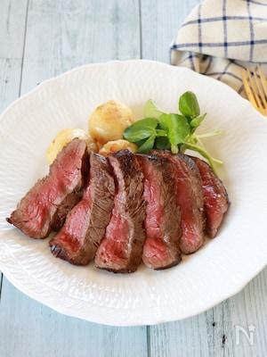 【基本】ビーフステーキの焼き方